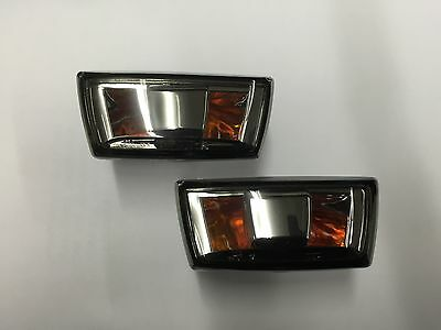 Vauxhall Corsa D 2006> All Models Tinted Side Repeaters Lens  Pair New E-Marked