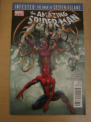 The AMAZING SPIDERMAN  663. MARVEL. 2011