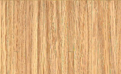1:12 Scale Real Wooden Thin Strip Flooring Dolls House Miniature 43cm x 28cm