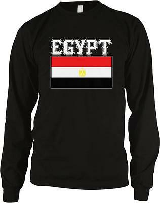 Arab Republic of Egypt Text Flag Egyptian Pride Long Sleeve Thermal