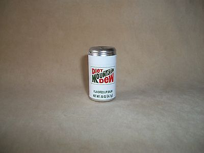 .15 Oz. Diet Mountain Dew Flavored Lip Balm In A Can, BRAND NEW & FACTORY SEALED