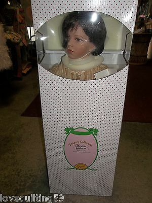 """Paradise Galleries Collectible Doll Porcelian """"Nicole"""" Doll"""