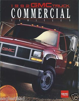 Truck Brochure - GMC - Commerical Vehicle Product Line Overview - 1992 (T1089)