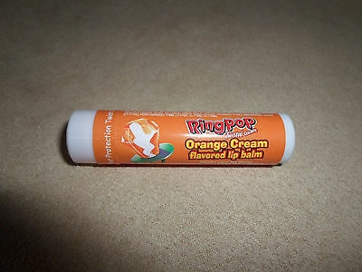 15 Oz. Factory Sealed Ring Pop Orange Cream Flavored Lip Balm By Lotta Luv, NEW!