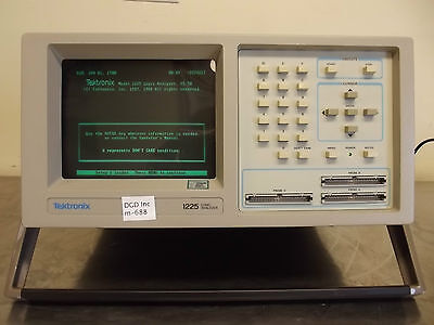 Tektronix Model 1225 Logic Analyzer-Powers Up-Metal Handle-Looks Good-m616