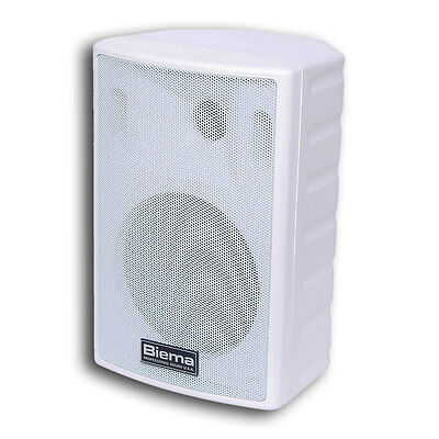 Biema 35W 2 Way Reflex Full Range Speaker White