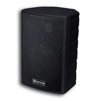 Biema 35W 2 Way Reflex Full Range Speaker Black