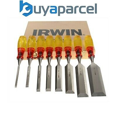 Marples 8 Piece Split Proof Chisel Set 373S8 MAR373S8 Striking Cap XMS16CHISEL8