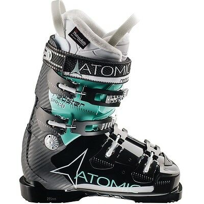 2015 Atomic Redster Pro 80 W Black/Mint Size 25.5 Women's Ski Boots