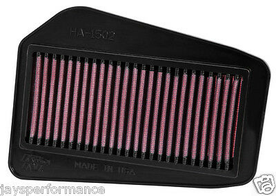 Kn Air Filter (Ha-1502) Replacement High Flow Filtration