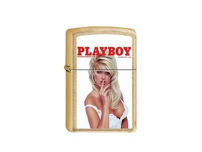 """Zippo Limited """"playboy Cover November 1994"""" Brass Color Lighter / 2003678 *new*"""