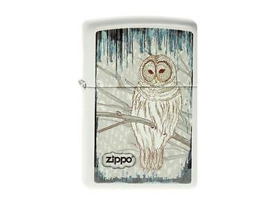 "ZIPPO ""OWL"" WHITE LIGHTER / 2003806 ** NEW in BOX **"