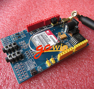 SIM900 V2.2 Wireless Module GSM GPRS Shield Arduino (with SIM card holder)