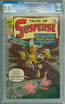 Tales of Suspense # 42 The Red Barbarian's Trap !   CGC 7.5 scarce book !