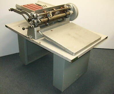 "Rollem Champion 990 17"" Impression Perforating Scoring finishing Slitter Machine"