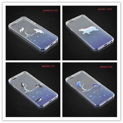 "Cute Transparent Ultra Thin Phone Case Cover Skin For Iphone 5S/6/6Plus4.7""/5.5"""