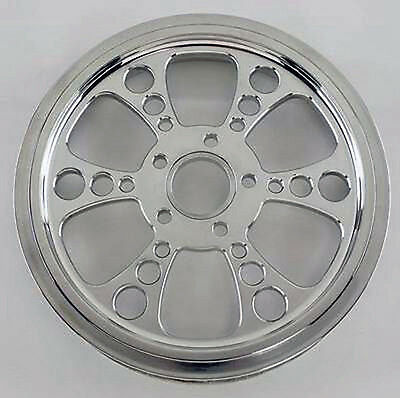 "Kool Kat 65 Tooth Polished Pulley 1.5"" W Harley Flhr Road King Fltr Road Glide"