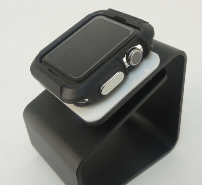 Black iWatch  42mm Soft & Slim Protective Case  with 2 Free Screen Cover