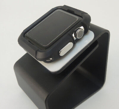 Black iiWatch  42mm Soft & Slim Protective Case  with 2 Free Screen Cover