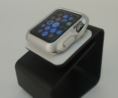 Silver iiWatch  42mm Soft & Slim Protective Case with 2 Free Screen Cover