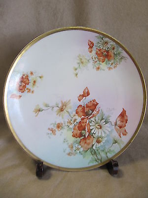 Imperial Austria Vintage Hand Painted Plate In Very Good Condition