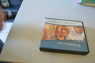 Kaplan CPA Review Video CD's For The CPA Exam s-9