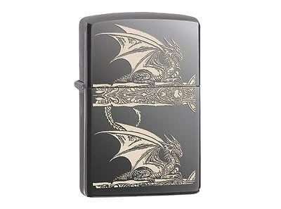 "ZIPPO ""ANNE STOKES DRAGON"" BLACK ICE LASERED LIGHTER / 60001615 * NEW in BOX *"