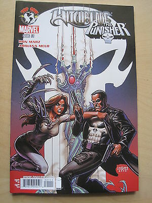 WITCHBLADE / PUNISHER ONE-SHOT by RON MARZ & ADRIANNA MELO.2007.MARVEL / TOP COW