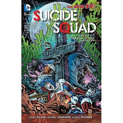 Suicide Squad Volume 3: Death is for Suckers TP (The Ne - Paperback NEW Glass, A