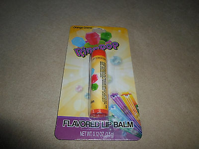 .12 Oz. Ring Pop Orange Cream Flavored Lip Balm By Lotta Luv, NEW IN PACKAGE!!!