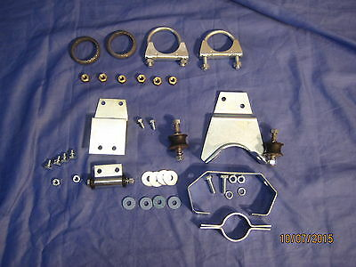Mg 3 Part Mgb Bgt Exhaust Fitting Kit 1975 On Rubber Bumper
