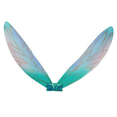 Adult Pixie Wings Multi Colours Blueish Fairy Tale Fancy Dress Accessory