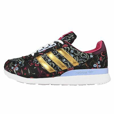 Adidas Originals ZX 500 OG W Black Floral Womens Running Shoes Sneakers S77319