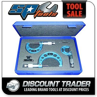 SP Tools Micrometer Outside 3 Piece Set - SP35693