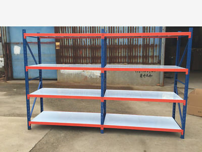 NEW 4Mx2M!!! 1200KG!!! Garage Warehouse Steel Storage Shelving Shelves Racking
