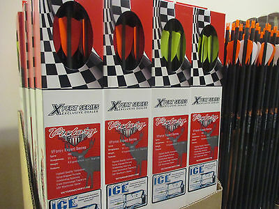 12 VICTORY V1 Complete Arrows 350 500 600 XPERT SERIES Vforce Expert .001 1DZ