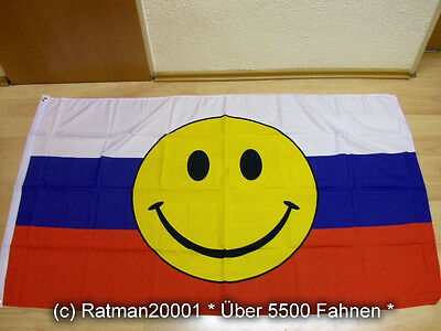 Fahne Flagge Smile Smiley Pink 90 x 150 cm