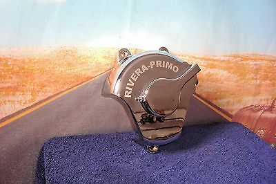 COVER Chrome End RIVERA-PRIMO 6 Speed Hydraulic Clutch Fits HARLEY Softail  E7