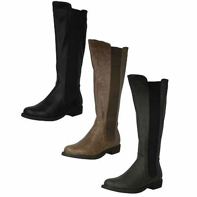 47c2a879aca07 Ladies Biker Boots Womens Girls Winter Smart Riding Army Ankle Goth Punk  Shoes. £11.95 Buy It Now 10d 17h. See Details. Ladies Coco Boots Label L9327