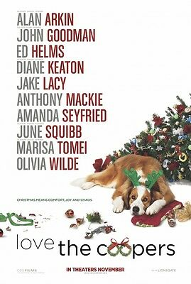 Love The Coopers - original DS movie poster - D/S 27x40 Advance