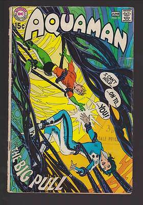 Aquaman # 51  The Big Pull !  plus Adams Deadman !  grade 3.5  scarce book !!
