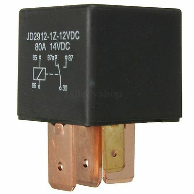 Dc 12V Volt 80A 80 Amp 5 Pin Relay Switch Car Van Vehicle Automotive Boat Truck