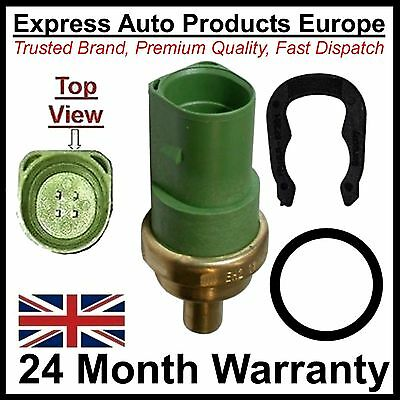 Water Coolant Temperature Sensor & Clip & O-Ring 4-Pin Round VW Golf MK4