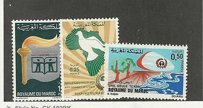 Morocco,  Postage Stamp, #252, 260-261 Mint, 1972