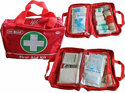 70  Pieces  Luxury FIRST AID KIT Bag, Includes Ice packs - Travel, Home, Car