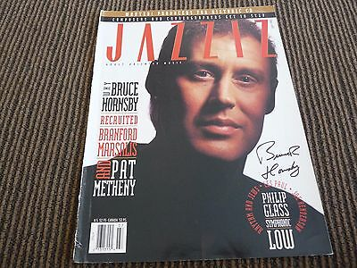 Bruce Hornsby Signed Autographed Jazziz Magazine Cover Photo PSA Guaranteed