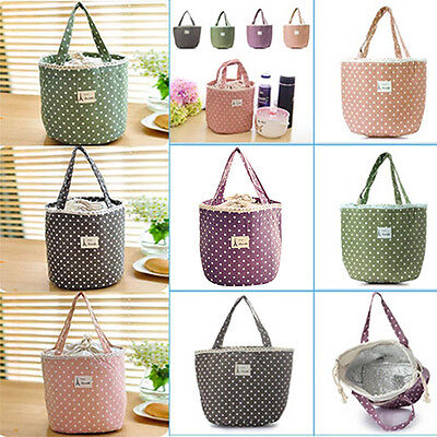 Insulated Storage Cooler Thermal Picnic Lunch Bag Waterproof Travel Carry Tote