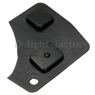 2 Button Car Remote Key Fob Repair Kit Switch Rubber Pad For Toyota Corolla Rav4
