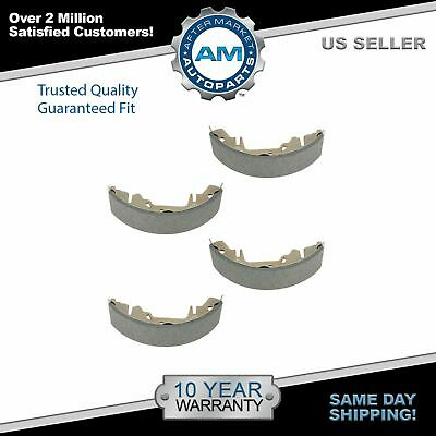 Set Of Rear Drums Fit Chrysler Town /& Country 1996-2000 /& 2004-2007