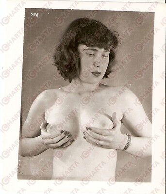 1950 ca USA - EROTICA VINTAGE Naked girl with bracelet *PHOTO